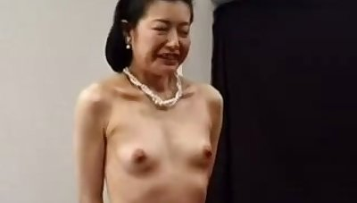 Petite Asian Japanese Granny Fucked With Toys 6