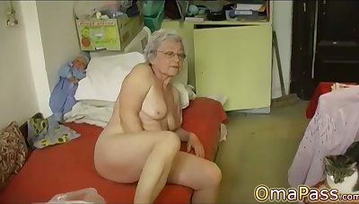 OmaPasS Compilation be useful to Age-old Amateur Granny Videos