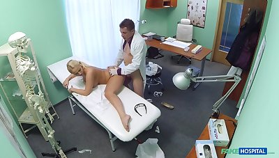 Lilith's shocking hardcore dicking at burnish apply doctor's office