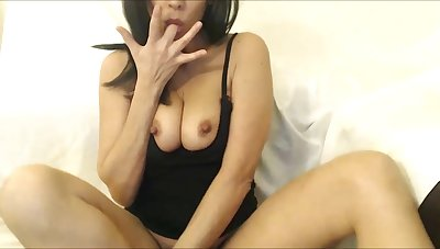 Sloppy and enjoys every shafting drop be worthwhile for her cum while squirting right in the cam!