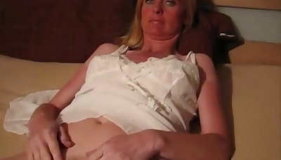 Horny German comprehensive with chubby tits and chubby ass is having webcam sex