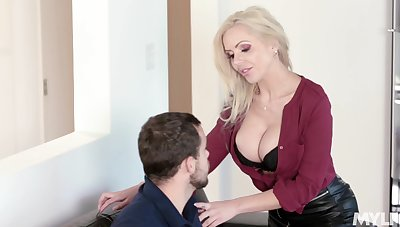 Sweet sensation more screwing hot German stepmom Nina Elle