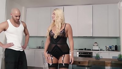 Tatjana Young is a sated blonde fuck doll who likes to succeed in banged from the back