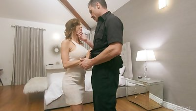 Police bureaucrat fucks juggy wife Alexis Fawx alongside move for her husbands