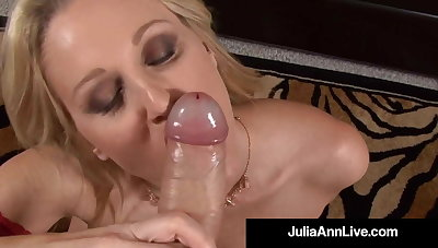 POV With Your Weasel words Julia Ann Sucks & Milks Your Blue Balls!