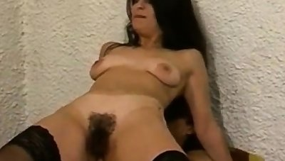 lose one's heart to with an increment of creampie  my hairy cunt with an increment of ass