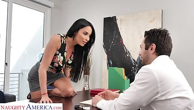 Anissa Kate wants nearby buy a avant-garde SUV for a lower price increased by she's ready nearby have sex